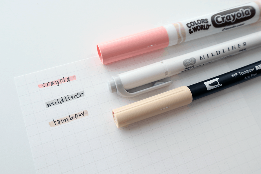 highlighter marker colors