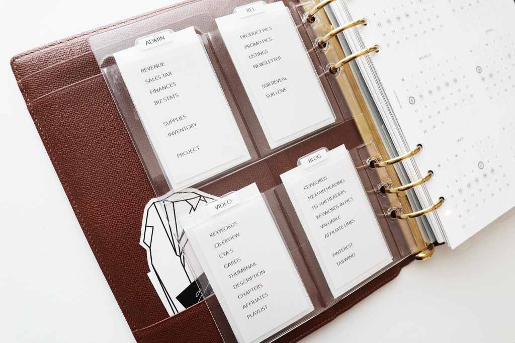 planners for productivity