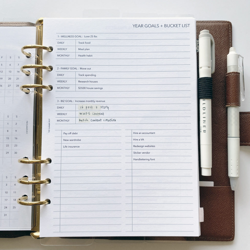 planning routines